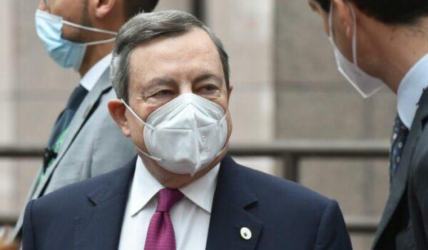 """Draghi """"Non aumenteremo le tasse"""""""