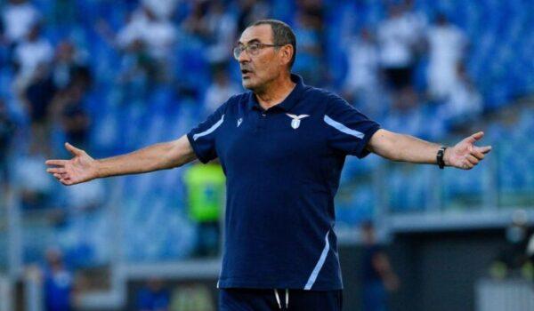 """Dopo l'Inter c'è il Marsiglia, Sarri chiede alla Lazio """"Continuità"""""""