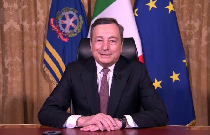 """Draghi """"Si sta in Europa non per bisogno ma per realismo e idealismo"""""""